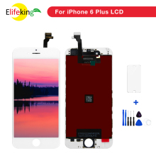 цены 5PCS/Lot AAA Mobile LCD Screen For iPhone 6p 6 Plus Display With Touch Screen Digitizer Assembly No Dead Pixel Free Shipping