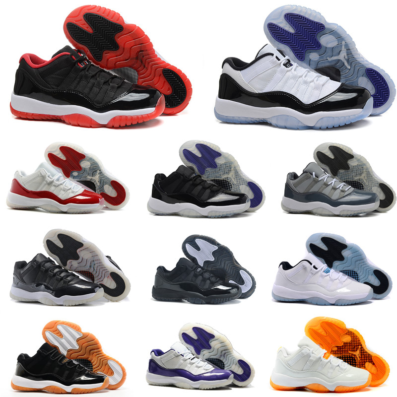retro 11 jordans men low top