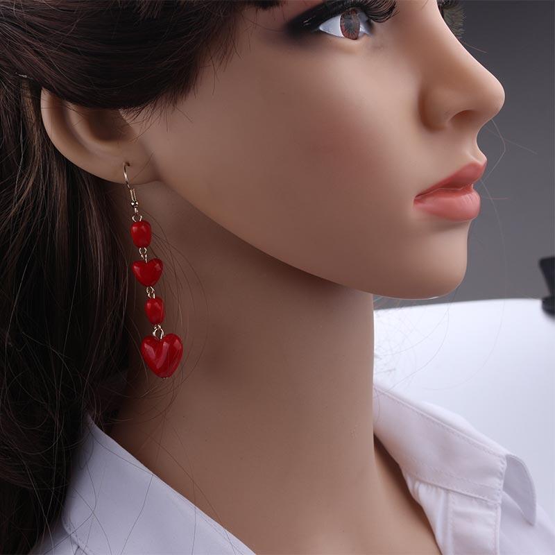 19 Fashion Big Gold Silver Pearl Drop Earrings Wedding Jewelry Tassel Statement Geometric Long Metal Earrings for Women 9