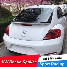 JNCFORURC Rear Trunk Lid Car Spoilers Wings For VW Beetle 2014 15 16 17 18 Painted color Spoiler ABS Plastic