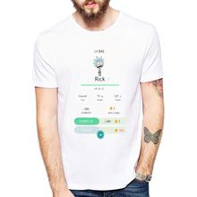 Rick and Morty T-shirt 2018 New Anime Style Shirt O-Neck Short Sleeve T Shirt Homme Rick Morty Fans T shirts