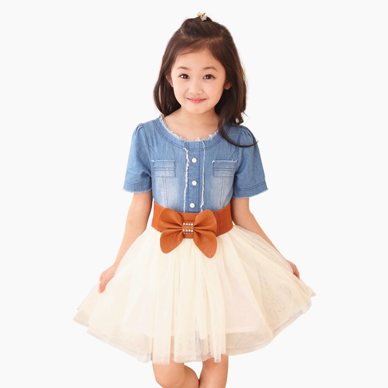 Retail Spring 2015 New Summer Children S Clothing Girls Casual Dress