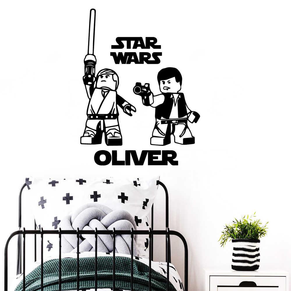 Modern Star Wars Wall Sticker Custom Name Vinyl Wall Decals For Kids Room Decor Star Wars.jpg q50