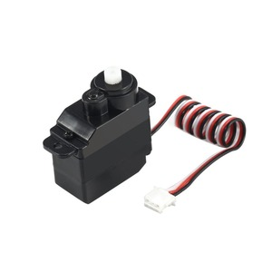 Image 2 - 7.5g Plastic Gear Analog RC Servo 4.8 6V for Wltoys V950 RC Helicopter Airplane Part Replacement Accessaries