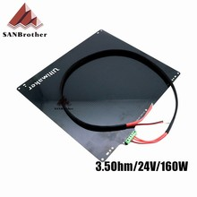 3D Printer Bed Ultimaker 2+ UM2 Hot Bed Aluminum Alloy 3D Printer Accessories 3.5Ohm 24V Heated Bed Plate With Cable Hot Sale!!!