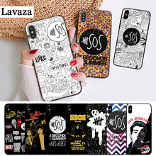 Lavaza 5Sos band YOUNGBLOOD 5 Silicone Case for iPhone 5S 6 6S Plus 7 8 11 Pro X XS Max XR