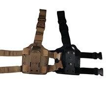 Leg Holster Platform Tactical Hunting Gear Thigh Drop Paddle Adapter GL19 92 HK USP Colt 1911 Sig P226