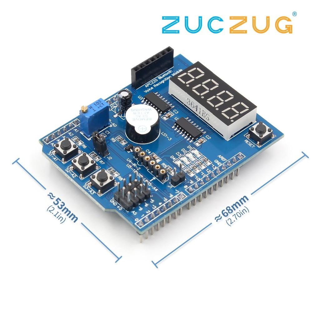MEGA-2560 R31 PCB prototype connexion module