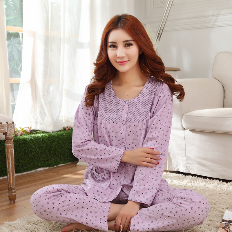 2016 Bathrobe Sleeping Beauty Divine New Female Long Sleeved Clothes In Spring And Autumn Home Furnishing Sweet Girl Cotton