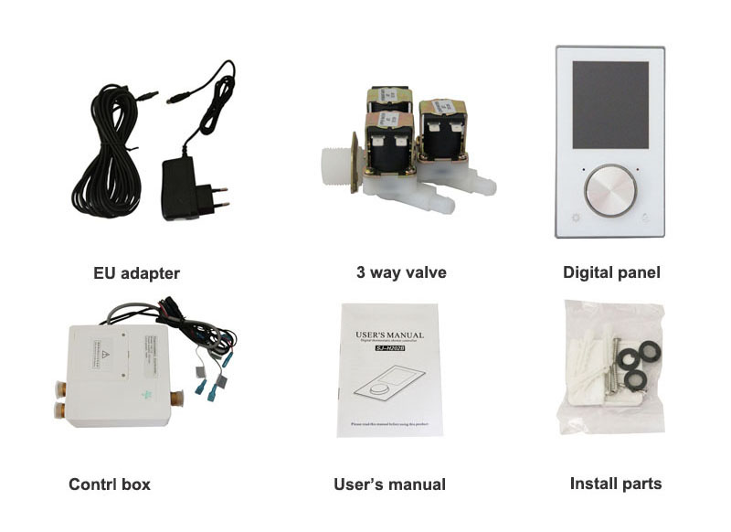 Digital Shower Control mixer