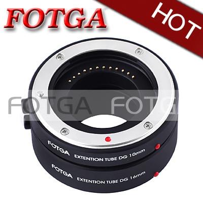 NEW!FOTGA Macro AF Auto Focus Extension Tube 10mm 16mm Set DG for Nikon 1 J1 J2 V1!FREE SHIPPING!WHOLESALE