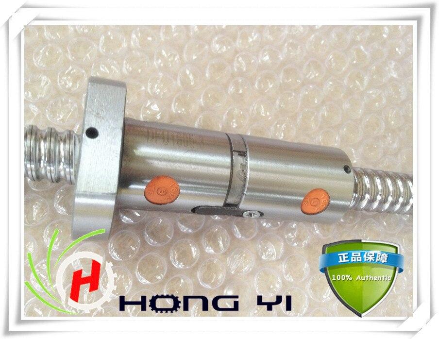 32mm linear rolled 3210 lead ballscrew ballnut set 1pcs DFU3210 ball screw L 2500mm + 1pcs double ball nut for DIY CNC-in Nut & Bolt Sets from Home Improvement    2