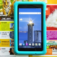 MingShore Silicone Case For Lenovo Tab E7 7.0inch TB-7104F Shockproof Safe Cover 7.0 7104 2018 Model Tablet