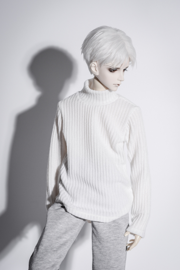 BJD DOLL White Sweater Outfits Clothing Top For1/4 17