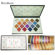 ROSAWEE Professional 18 Color Glitter Eyeshadow Palette Long Lasting Shimmer Matte Eye Shadow Beauty Makeup Cosmetic