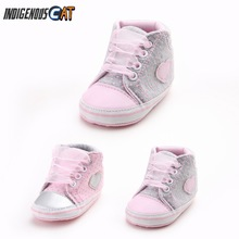 Summer Newborn Baby Boy Shoes First Walkers Spring Autumn Baby Boy Soft Sole Shoes Infant Canvas Crib Shoes 0-18 Months недорого