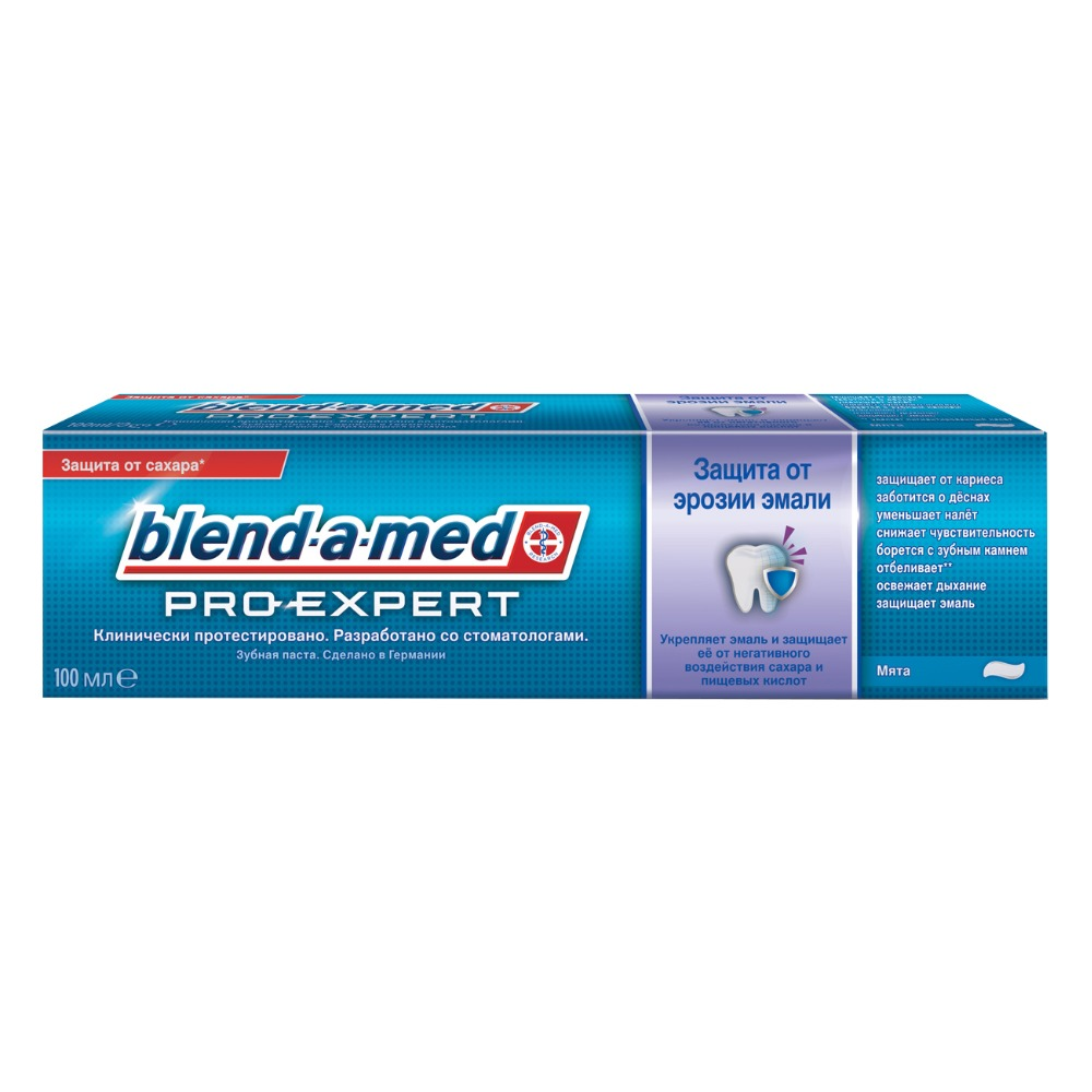 Toothpaste Blend-a-med ProExpert Protection against erosion of enamel Mint 100ml re mineralization of artificial enamel