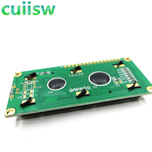 Image 4 - 10PCS LCD1602 1602 module Green screen 16x2 Character LCD Display Module Controller blue blacklight