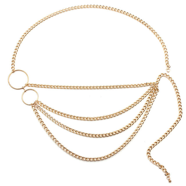 Body Jewelry Waist Belt 4...