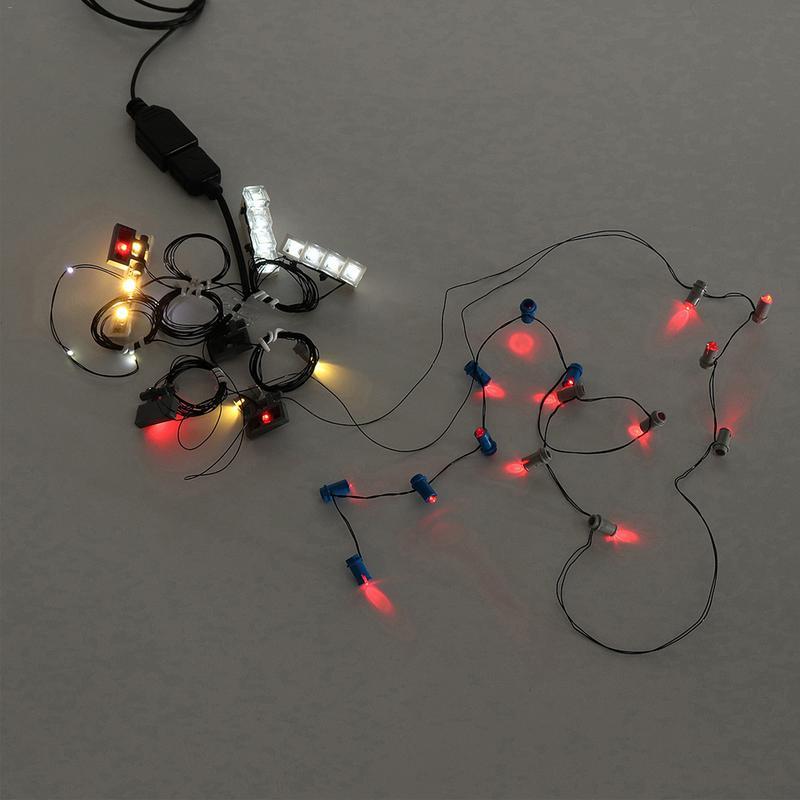 Lumière led kit d'éclairage bricolage Lumineux blocs de construction SEULEMENT Pour LEGO 42083 Bugatti Chiron Ensemble Technique - 2