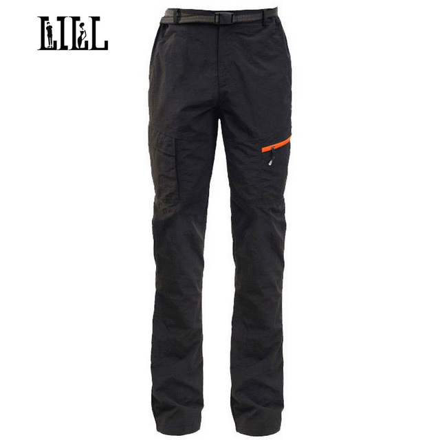 LILL | Men's Waterproof Cargo Pants 2017 Spring Summer Breathable Casual Trousers Army Black Mens Pants Men Sweatpants,UA161