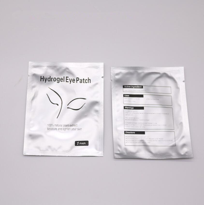 500pairs/pack New Paper Patches Eyelash Under Eye Pads Lash Eyelash Extension Hydrating Eye Tips Sticker Wraps Make Up Tools-in False Eyelashes from Beauty & Health    3