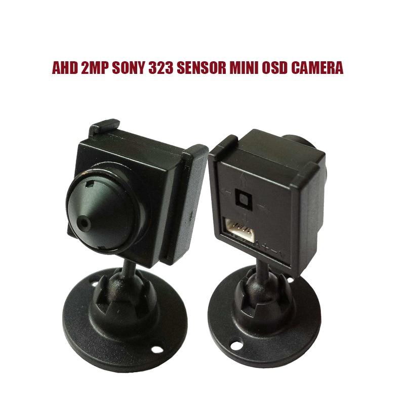 NEW AHD1080P/2MP SONY 323 Sensor Mini Analog High Definition Surveillance Camera Indoor Security AHD CCTV Camera With OSD Menu new ahd sony sensor imx322 1080p 2 0mp