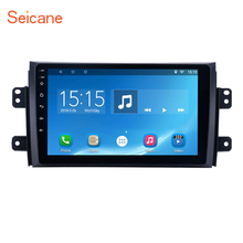 Seicane Android 6.0/7.1  2Din 9″ Touchscreen Car Radio Bluetooth GPS Head Unit for 2006-2012 Suzuki SX4 support OBD2 Mirror Link