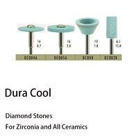 Dental Material Polishing Tool Full Porcelain Diamond Bur Alumina Zirconia Diamond Bur DC002B DC008 DC004A DIAMOND