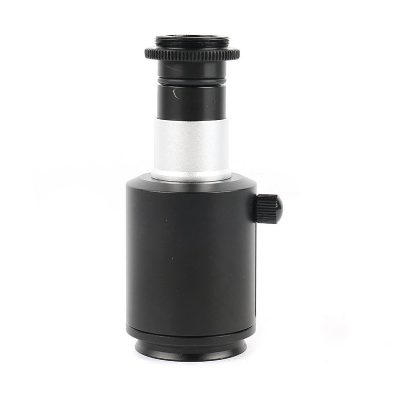 38mm CTV Stereo Microscope Camera Adapter 23.2mm C Mount Industrial Digital Video Microscopio Camera Aadapter Tube