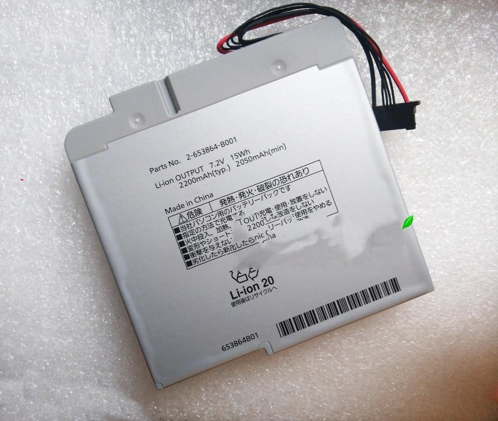 15Wh New laptop battery for PANASONIC CF-AX2 CF-AX3 2-653864-B001 aoweziic 1pcs 2pcs 5pcs 10pcs 100% new original klmag2geac b001 bga memory chip klmag2geac b001 emmc font 16gb