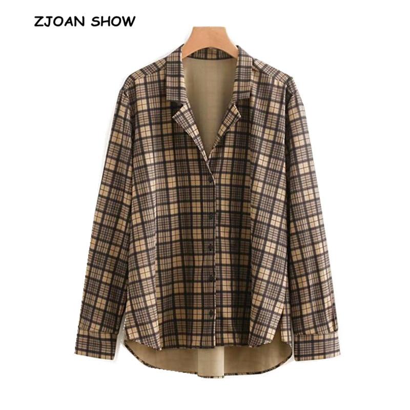 Blouses & Shirts 2019 Fashion New Korea Retro Women V-neck Black Show Thin Loose Single-breasted Bubble Long Puff Sleeve Chiffon Shirt Ljx08