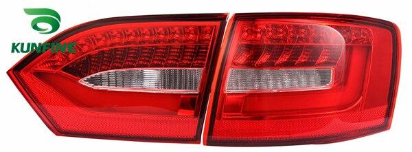 Pair Of Car Tail Light Assembly For VOLKSWAGEN JETTA/SAGITAR 2012 LED Brake Light With Turning Signal Light