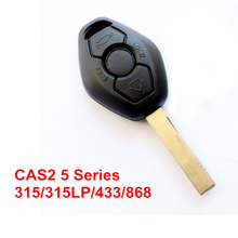 3 Buttons Remote Key For BMW CAS2 5 Series With Electronic Board 315 315LP 433 868 MHZ