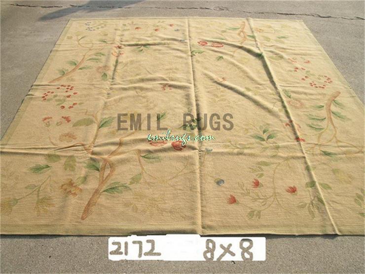 100 Wolle Handgenht Nadel Teppiche Needleopint 244 CM X 8