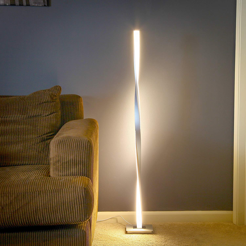 Nordic Design Led Floor Lamps For Living Room Bedroom Bedside Standing Lamp Remote Controlled Dimmable Living Room De Stand Lamp Floor Lamps Aliexpress