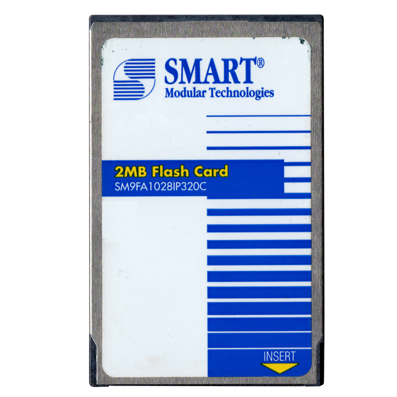Pretec 2mb sram card
