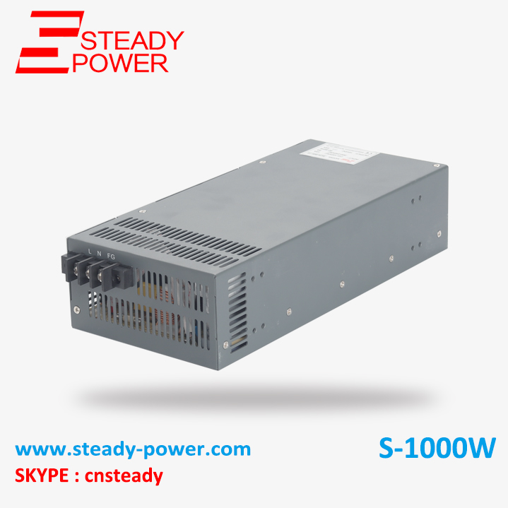 S 1000 12 Non waterproof 1000w 12v 80A AC DC power converter 12V 1000w smps