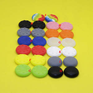 Joystick Caps Colorful Silicone Analog Controller Control Cap Cover Key Protector For
