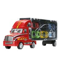 12pcs Lot Mini Pull Back Diecast Alloy Car Toys Children 12 Racing Car Model Toys Container