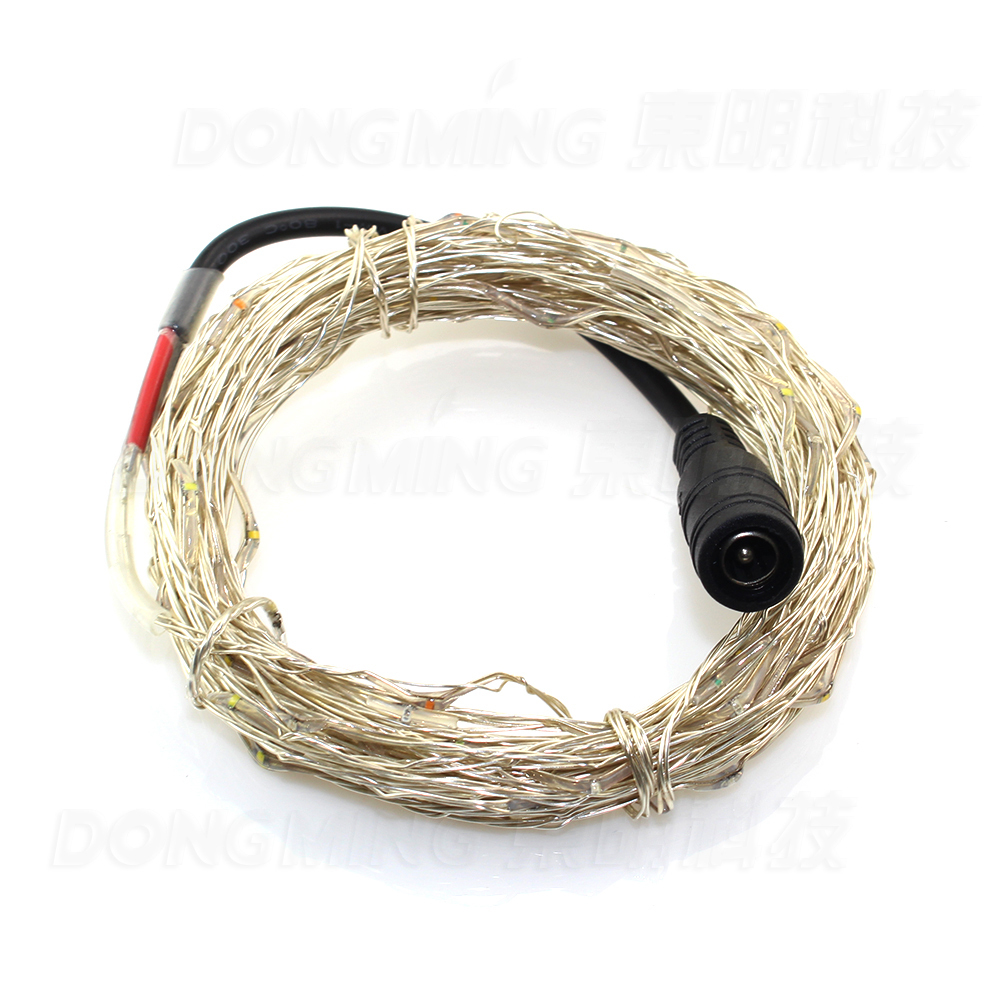 10m 100leds DC12V led string light Waterproof fairy lights led christmas lighting with d ...