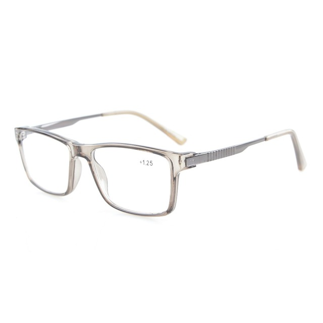 6722c59285de TR008 Eyekepper Stylish Crystal Clear Vision Quality TR90 Frame Spring  Hinges Mens Womens Reading Glasses +0.50---+3.00