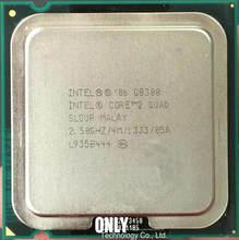 Lntel Core 2 Quad Q8300 CPU Processor (2.5 Ghz/4 M/1333 GHz) soquete 775 de Desktop CPU (trabalhando 100% Frete Grátis)