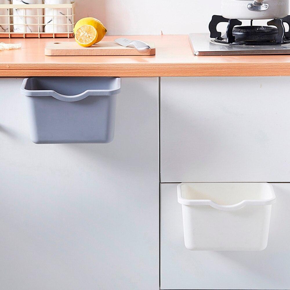 Kitchen Cupboard Back Garbage Bin Cabinet Door Garbage Bag ...