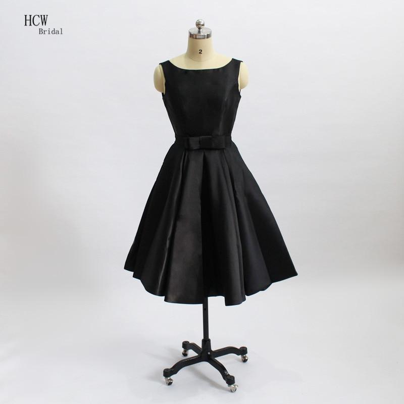 Little Black   Dress   2019 Sleeveless Cut Out Satin Short   Cocktail     Dresses   Cheap Women Occasion Party Vestido De Festa Curto