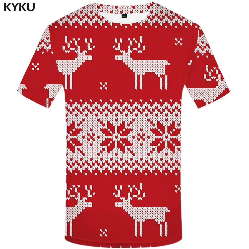 3d Tshirt Christmas Tree T-shirts Men Xmas Tshirt Homme Apple Tshirts Casual Red T Shirt 3d Happy Tshirt Printed Mens Clothing
