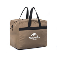 Brand Factory Sell 45L High Quality Nylon Luggage Bag High Capacity Travel Organizer Bag Camping Buggy