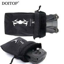 Doitop Универсальный Drone тела пульт дистанционного управления мягкая сумка для хранения для dji Мавик Pro воздуха водонепроницаемый самолета рукавом Carry Карманный