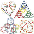 1 Conjunto Variedade DIY Montado Inseridos Blocos de Construção de Brinquedos Para Crianças de Inteligência Canudo de Plástico Colorido Do Bebê Presentes de Natal para Crianças
