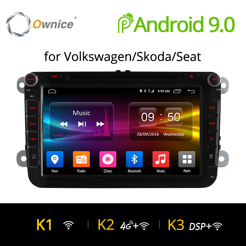 4G SIM LTE Network Ownice K1 K2 K3 Octa 8 Core Android 9 0 2G RAM